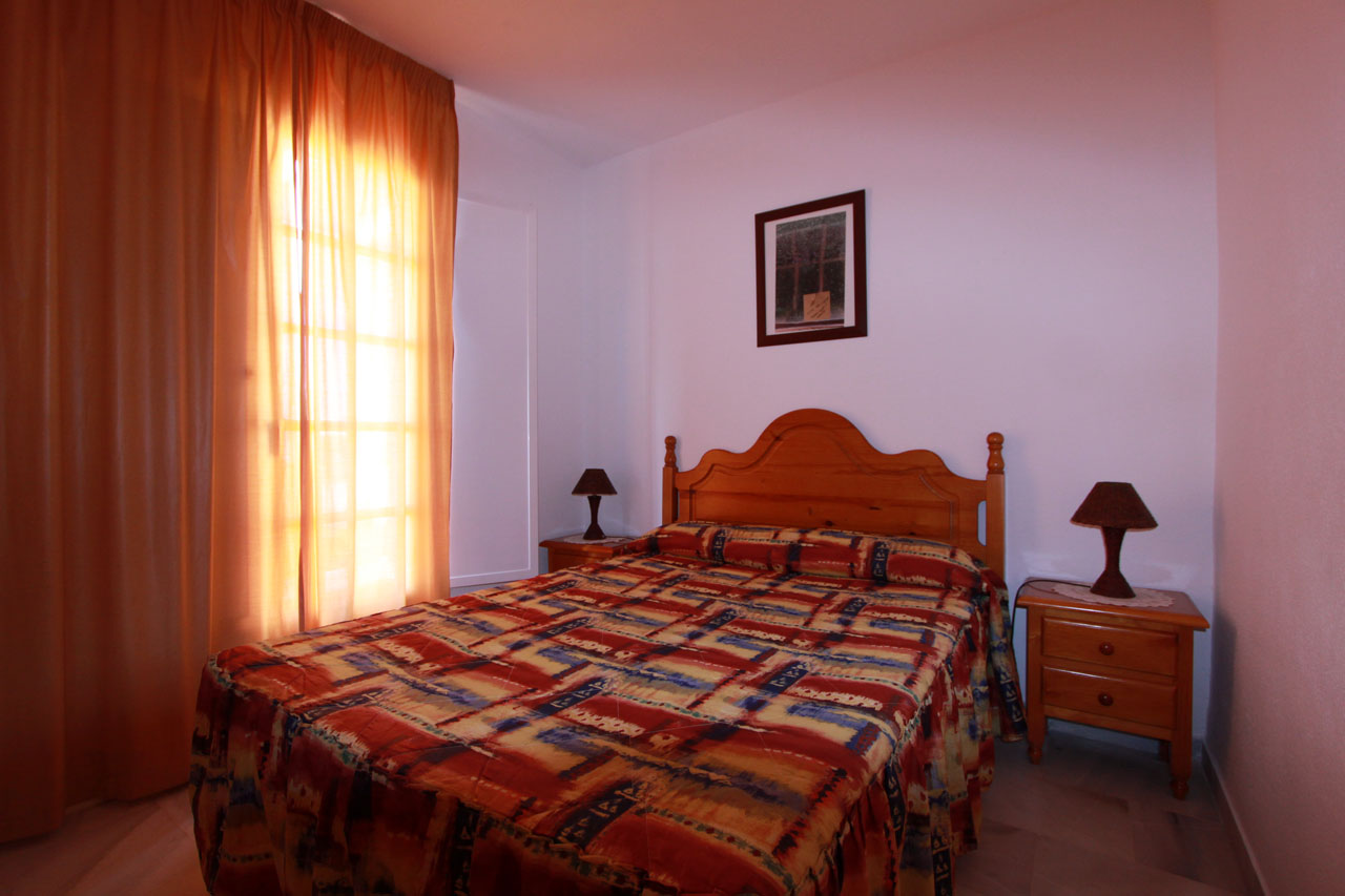 self catering apartment Mojacar bedroom